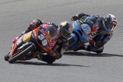 Moto3. Luis Salom and Alex Rins Stock Photo