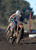 Moto mud 02 Stock Photography