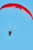 Moto paragliding Fotografia Stock