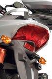 Moto, phare Photographie stock libre de droits