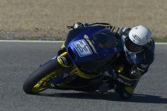 Moto2 prov på den Jerez löparbanan - dag 2. Arkivbild