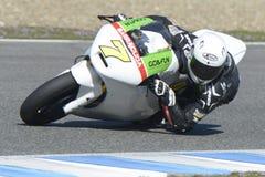 Moto2 prov på den Jerez löparbanan - dag 2. Royaltyfri Bild