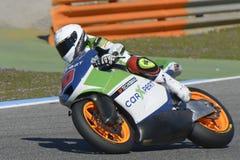 Moto2 prova alla pista di Jerez - giorno 2. Immagine Stock