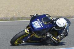 Moto2 prueba en la pista de Jerez - día 2. imagenes de archivo