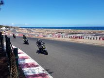 Moto race Royalty Free Stock Photos