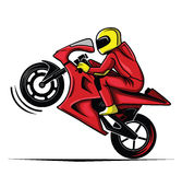 Moto race Stock Image