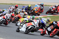 Moto3 Race. FIM CEV Repsol International Championship Stock Photo