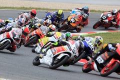 Moto3 Race. FIM CEV Repsol International Championship. Barcelona, Spain. 22 June 2014. Moto3 Race. FIM CEV Repsol International Championship Stock Photo