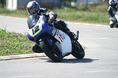 Moto race in the Serbian Championships