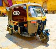 Moto rickshaw in Jaisalmer royalty free stock photo