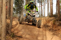Moto4 rider stock photos