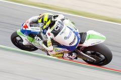 Moto 2 rider Roberto Rolfo Stock Photography