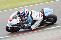 Moto 2 rider Simone Corsi Royalty Free Stock Image