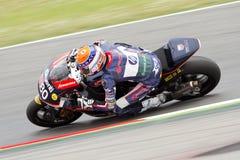 Moto 2 rider Tito Rabat Stock Image