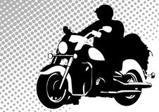 Moto road Royalty Free Stock Images