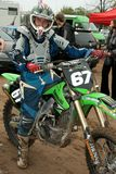 moto Ross έξοχος στα πρωταθλήματ&al στοκ εικόνες