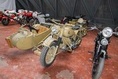 Moto rower, Criterium roczny pokaz lotniczy przy Rozas lotniskiem fotografia royalty free