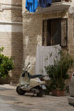 Moto scooter in Italy Stock Images