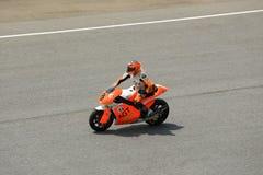 MOTO2 : SEPANG, MALAYSIA : October 26, 2014 Royalty Free Stock Images