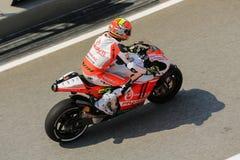 MOTO2 : SEPANG, MALAYSIA : October 26, 2014 Stock Photo