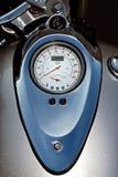 moto silver speedometer Στοκ εικόνες με δικαίωμα ελεύθερης χρήσης