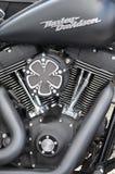 Moto sur commande de Harley Davidson Photos libres de droits