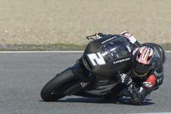Moto2 teste na pista de Jerez - dia 2. Imagem de Stock Royalty Free