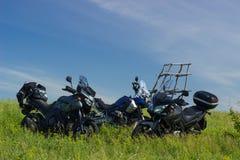 Moto travel Stock Image