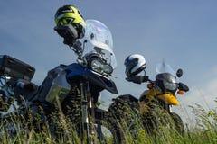 Moto travel Stock Images
