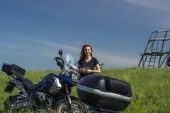 Moto travel Royalty Free Stock Photo