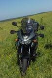 Moto travel Stock Photography
