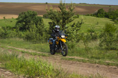 Moto travel Royalty Free Stock Image