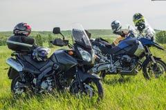 Moto travel Stock Photos