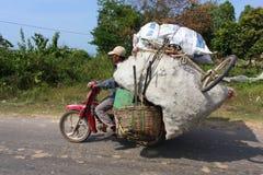 Moto truck in Cambodia Royalty Free Stock Image