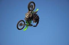moto x 6 фристайлов Стоковое Фото