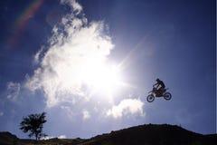 Moto x Baum Stockbild