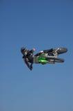 Moto X Freistil 8 Stockbild