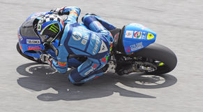 Moto2 rider Royalty Free Stock Photos