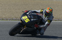 Moto2 test at Jerez racetrack - Day 2. Stock Images