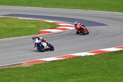 MotoAmerica Highspeed Motorcycle Racing stock photo