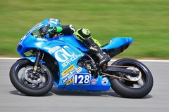 Highspeed Motorcycle Racing royalty free stock photos