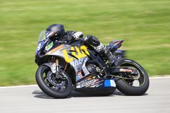 Highspeed Motorcycle Race stock image