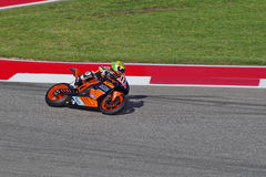 MotoAmerica rider Chris Fillmore Austin Texas 2015. MotoAmerica KTM Superbike rider Chris Fillmore races in Austin Texas 2015 Royalty Free Stock Photos