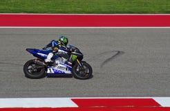 MotoAmerica ryttare Josh Hayes Austin Texas 2015 Royaltyfria Bilder