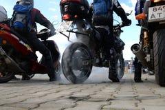Motobaykers Stock Images