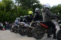 Motobaykers Royalty Free Stock Image