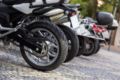 motobike特写镜头细节  库存照片