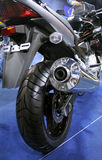 Motobike. Rear wheel of the sport bike Stock Image
