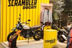 Motobike Fotografia Stock Libera da Diritti