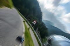 Motobike drive Stock Images